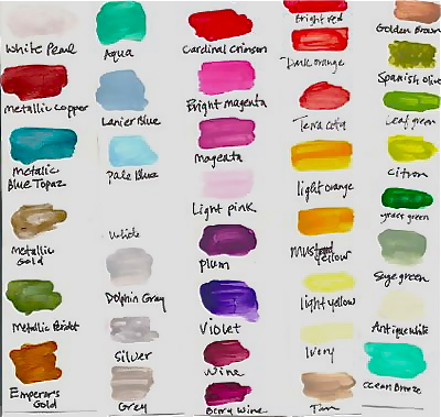 Color names | Sorry, that user name is taken